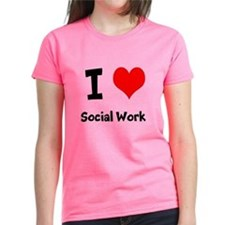 I heart Social Work T-Shirt