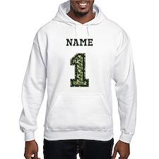 Personalized Camo 1 Hoodie Sweatshirt
