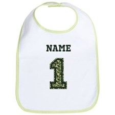 Personalized Camo 1 Bib