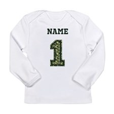 Personalized Camo 1 Long Sleeve T-Shirt