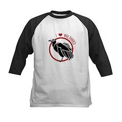 Love Vultures Kids Baseball Jersey