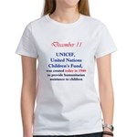 1211ct_unicefcreated1946 T-Shirt