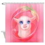 Cute Lamb Shower Curtain