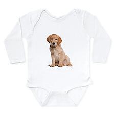 Golden Retriever Long Sleeve Infant Bodysuit