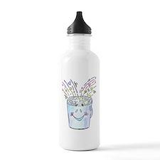 Happy Bucket Water Bottle