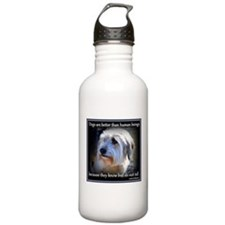 Dogs are better... Water Bottle