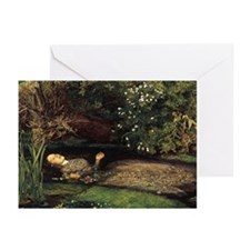 Millais Ophelia Greeting Cards (Pk of 10)