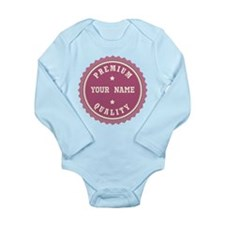 Personalized Premium Quality Long Sleeve Infant Bo