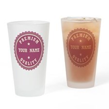 Personalized Premium Quality Drinking Glass