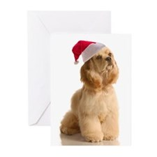 Santa Cocker Cards (Pk of 10)