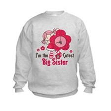 Cutest Big Sister Sweatshirt