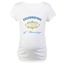 Celebrating 1 Year Of Marriage Shirt