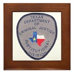 Texas Prison Framed Tile