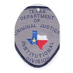 Texas Prison Oval Ornament