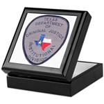 Texas Prison Keepsake Box