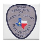 Texas Prison Tile Coaster