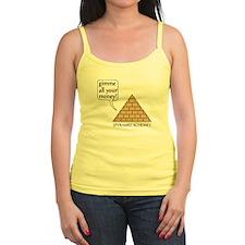Pyramid Scheme, Funny Tank Top