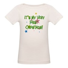 Star Studded Baby's First Christmas Tee