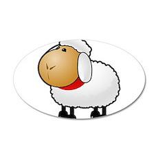 Cartoon Sheep Wall Decal