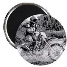 """Mountain Trail Riding"" Magnet"