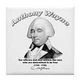 Anthony Wayne 01 Tile Coaster