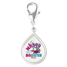 Personalized Big Sister - Owl Charms