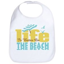 Life's Better Beach Bib