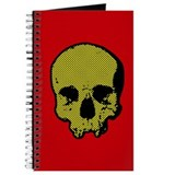 Halftone Skull Journal