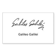 Galileo Galilei's Signature Decal