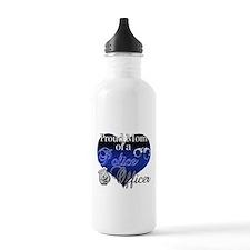 Police Mom Water Bottle