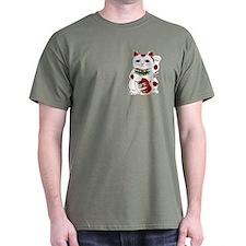 White Maneki Neko T-Shirt