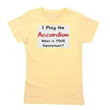 play accordion Girl's Tee
