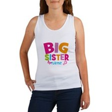 Personalized Name - Big Sister Tank Top