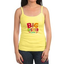 Personalized Name - Big Sister Tank Top