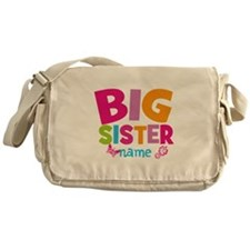 Personalized Name - Big Sister Messenger Bag