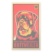 Obey the ROTTWEILER! Dictator Stickers