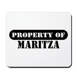 Property of Maritza Mousepad