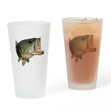 Bass mouth Drinking Glass