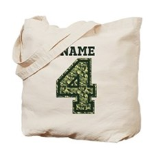 Personalized Camo 4 Tote Bag