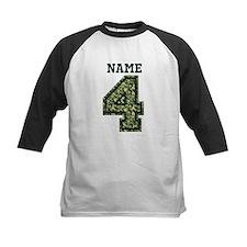 Personalized Camo 4 Baseball Jersey
