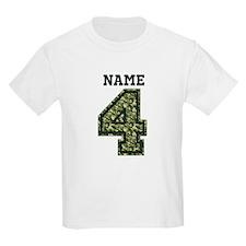 Personalized Camo 4 T-Shirt