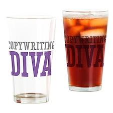Copywriting DIVA Drinking Glass