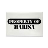 Property of Marisa Rectangle Magnet (100 pack)