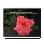 Words of Faith Mousepad