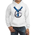 Young Six Flatline Records Hooded Sweatshirt