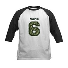 Personalized Camo 6 Baseball Jersey