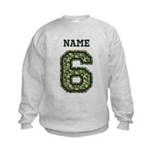 Personalized Camo 6 Sweatshirt