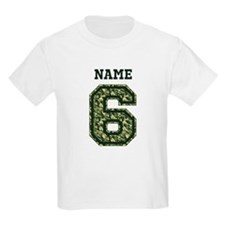 Personalized Camo 6 T-Shirt