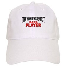 """The World's Greatest Bass Player"" Baseball Cap"