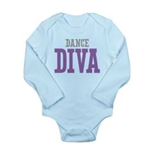 Dance DIVA Long Sleeve Infant Bodysuit